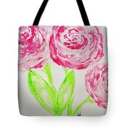 Peonies In Bloom Tote Bag