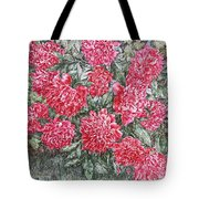 Peonies Love Tote Bag