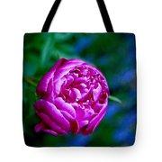 Peony Bloom Tote Bag