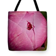 Peony Blossom Opening Tote Bag