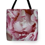 Peony Close Up Tote Bag