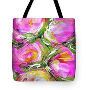 Peony Punch Tote Bag