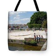 People Enjoying The Stratford Sunshine Tote Bag