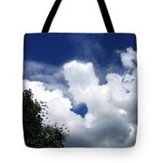 People In The Clouds Tote Bag