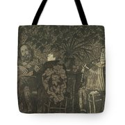 Three Persons Tote Bag