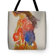 People Turned Away Tote Bag