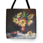 Still-life With Sunflowers Tote Bag