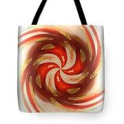 Pepermint Swirl Tote Bag