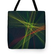 Pepper Computer Graphic Line Pattern Tote Bag