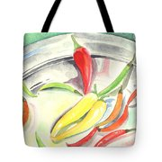 Pepper Play Tote Bag