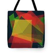 Pepper Polygon Pattern Tote Bag