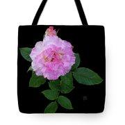 Peppermint Rose1 Cutout Tote Bag