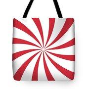 Peppermint Swirl Tote Bag
