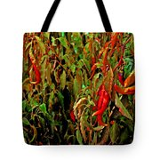 Peppers - Red Tote Bag