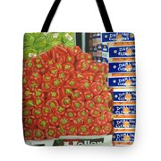 Peppers And Clementines Tote Bag