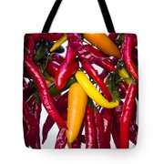 Peppers - Farmers Market - Madison - Wisconsin Tote Bag
