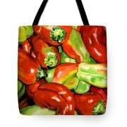 Peppers Tote Bag by Nadi Spencer
