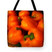Peppers Plump And Pretty Tote Bag