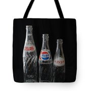 Pepsi Bottles Tote Bag