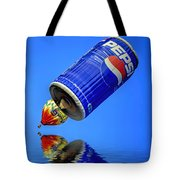 Pepsi Can Hot Air Balloon At Solberg Airport Reddinton  New Jersey Tote Bag