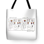 Perception And Reality Tote Bag