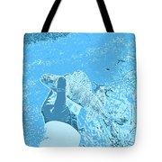 Perch Blue Tote Bag