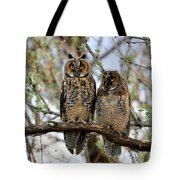 Perched And Posing Tote Bag