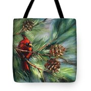 Perched High Tote Bag