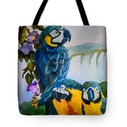 Perched In Paradise Tote Bag