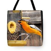 Perched Oriole Tote Bag