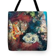 Perched Out Puffer Tote Bag