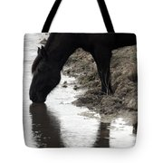 Percheron Kiss Tote Bag