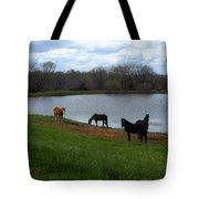 Percheron Pasture Tote Bag