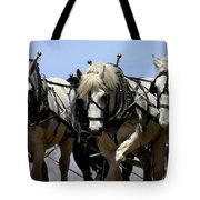 Percherons Tote Bag