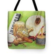 Percussion Tote Bag