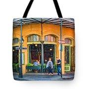 Pere Antoine Restaurant - Paint Tote Bag