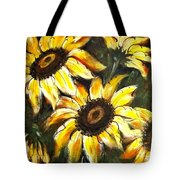 Perfect Beauty Sunflower Tote Bag