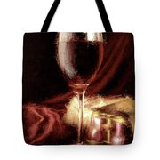 A Perfect Glass Of Wine Tote Bag