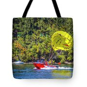 Perfect Landing Tote Bag
