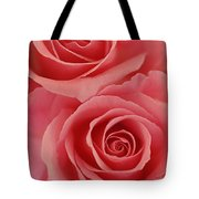 Perfect Pink Roses Tote Bag