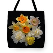 Perfect Ring Of Daffodils Tote Bag