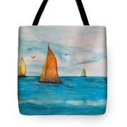 Perfect Sailing Day Tote Bag