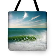 Perfect Wave Tote Bag by Carlos Caetano