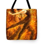 Perfection Of Practice - Palette Knife Oil Painting On Canvas By Leonid Afremov Tote Bag