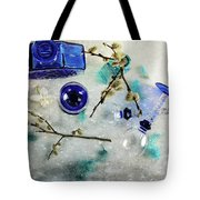 Perfectly Blue Tote Bag