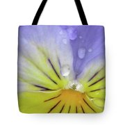 Perfectly Pansy 16 Tote Bag