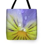 Perfectly Pansy 17 Tote Bag