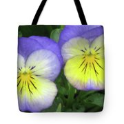 Perfectly Pansy 19 Tote Bag