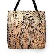 Perforated Metal Sheet Tote Bag