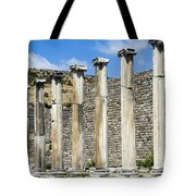 Pergamon Asklepion Colonnade Tote Bag